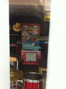 A pinball machine???