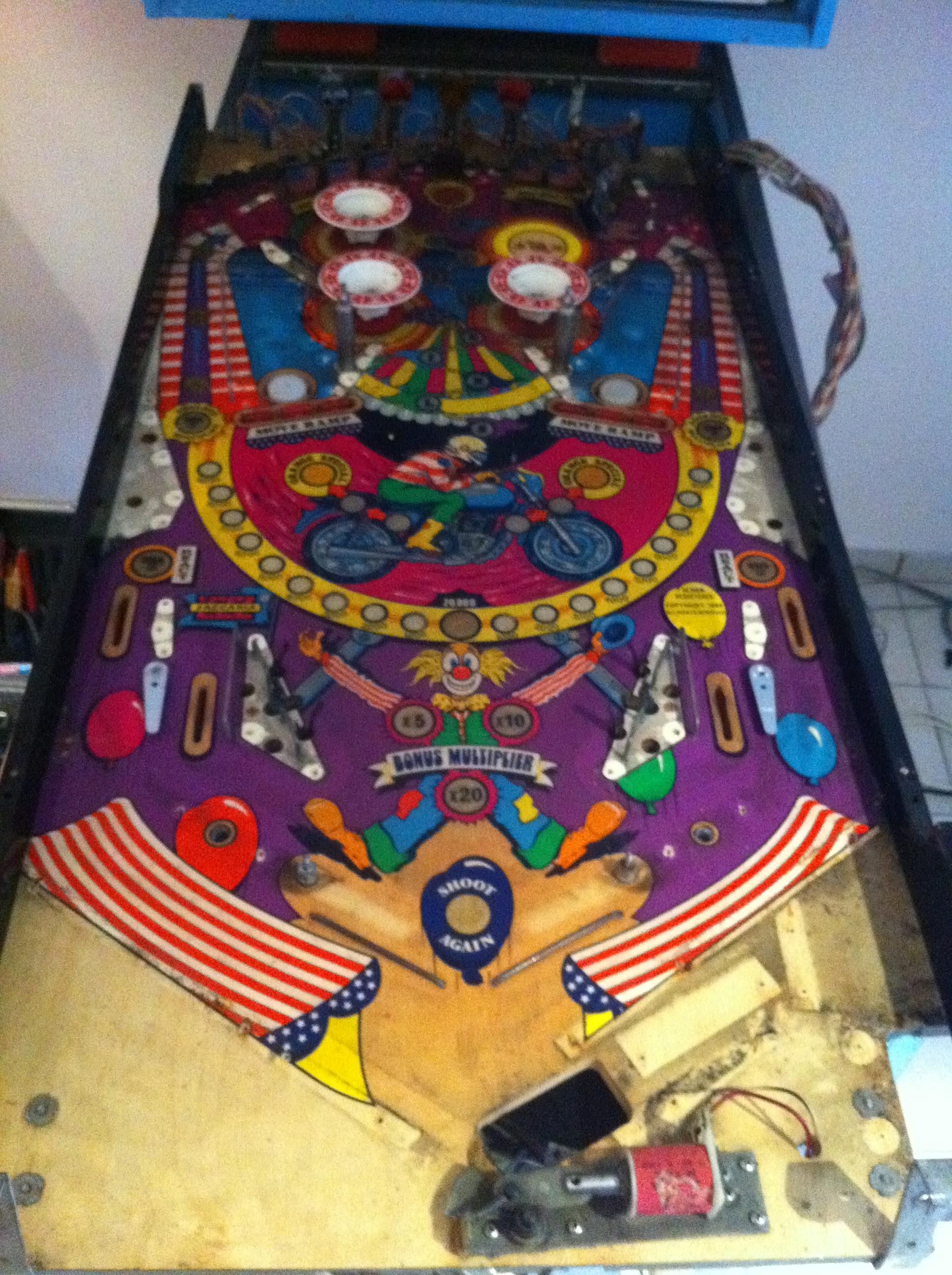 1984 Zaccaria Devil Riders Pinball Machine Rubber Ring Kit